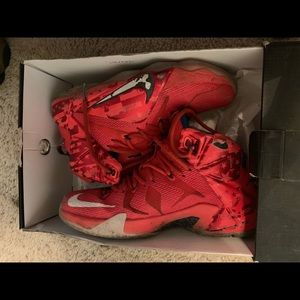 info for abe1b d96af Nike Lebron 12 Shoes on Poshmark